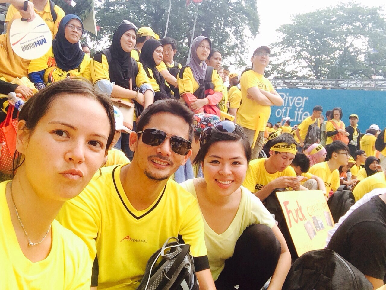 Bersih 4 and Racing Weekend
