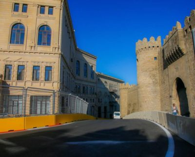 Motor Racing - Formula One World Championship - European Grand Prix - Preparation Day - Baku, Azerbaijan