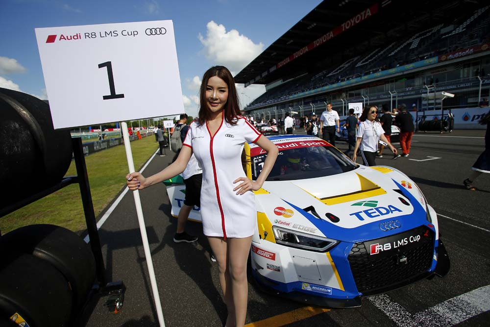 Alex Yoong (MAL) Audi TEDA Racing Team at Audi R8 LMS Cup, Rd3 and Rd4, Buriram International, Circuit, Buriram, Thailand, 22-24 July 2016.