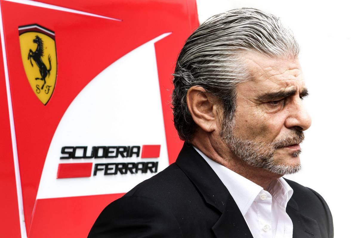 Maurizio Arrivabene (ITA) Ferrari Team Principal.