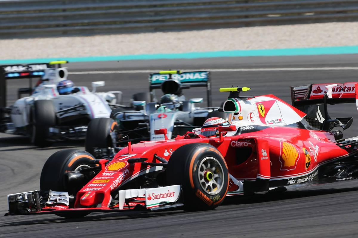 Kimi Raikkonen (FIN) Ferrari SF16-H.