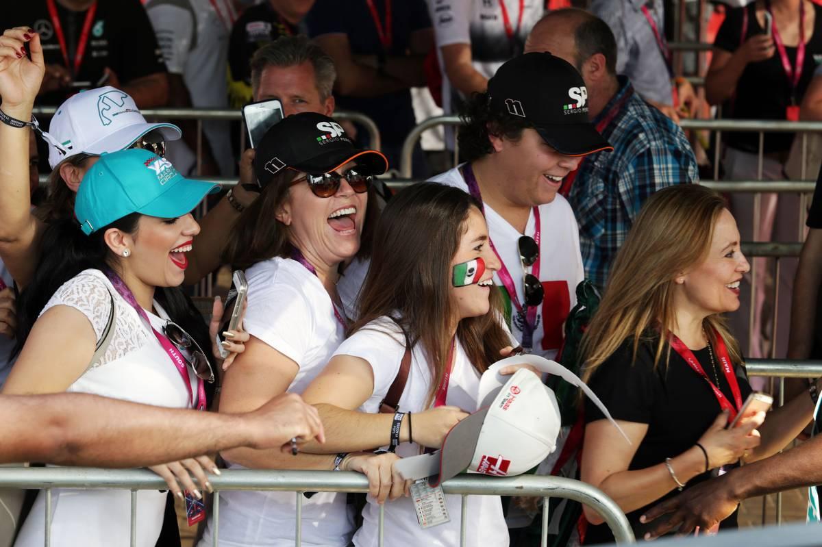 Sahara Force India F1 Team - Sergio Perez (MEX) Sahara Force India F1 fans.