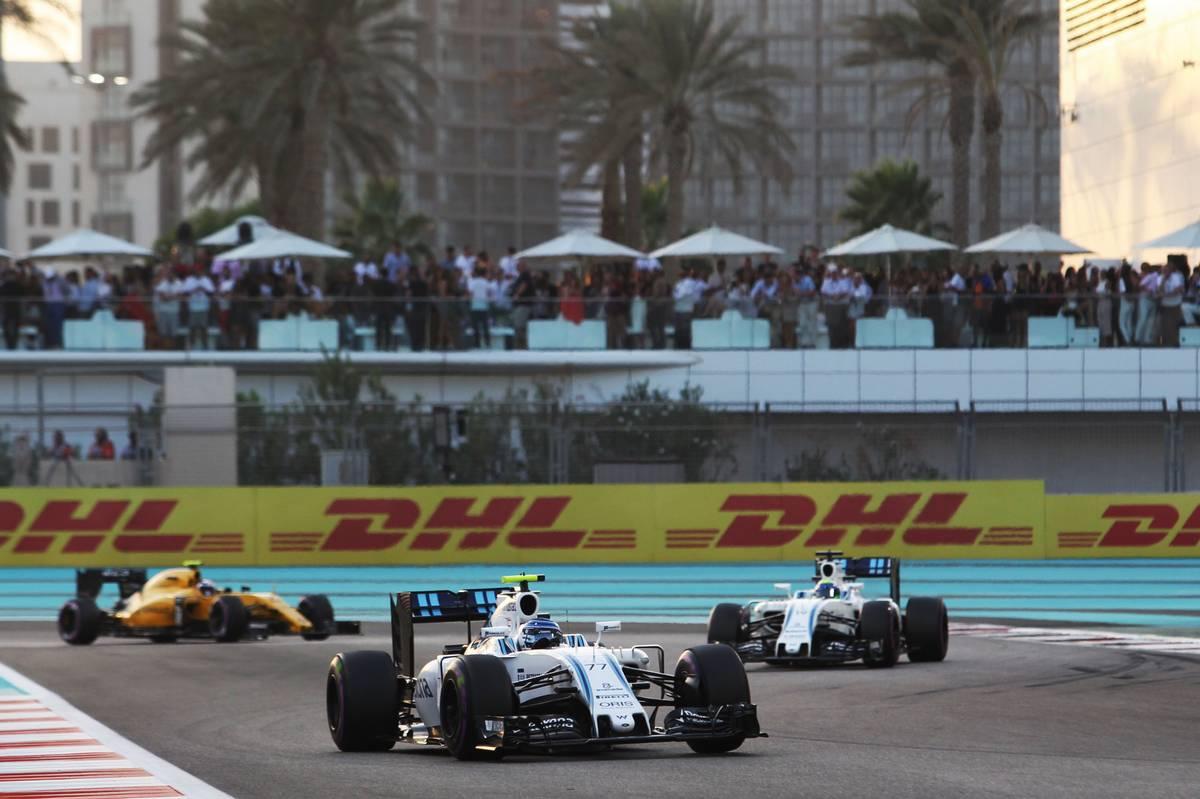 Valtteri Bottas (FIN) Williams FW38.