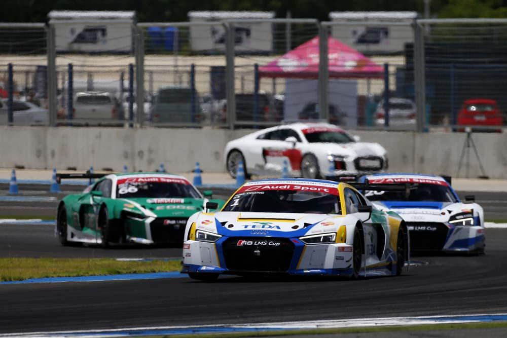 Alex Yoong (MAL) Audi TEDA Racing Team at Audi R8 LMS Cup, Rd3 and Rd4, Buriram International, Circuit, Buriram, Thailand, 22-24 July 2016.