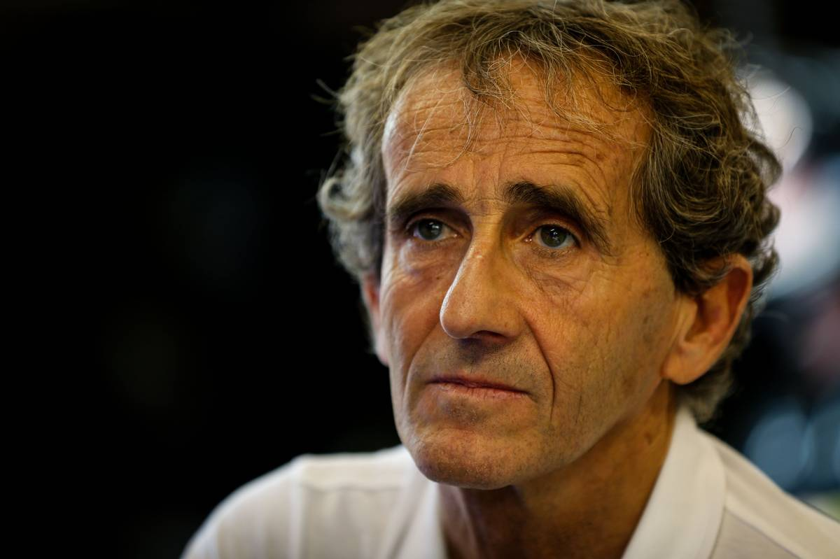 Alain Prost (FRA) with the Renault Sport F1 Team.