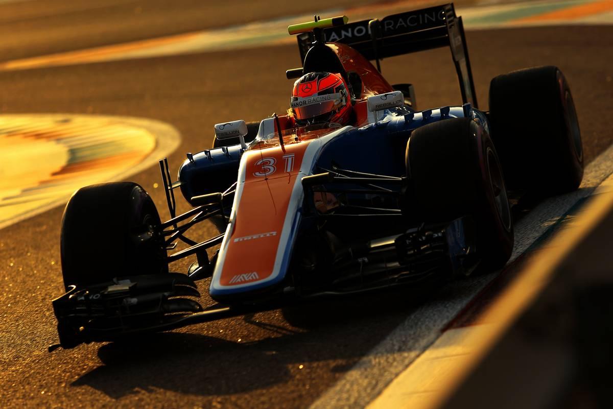 Esteban Ocon (FRA) Manor Racing.